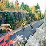 Biking the Mesabi Trail