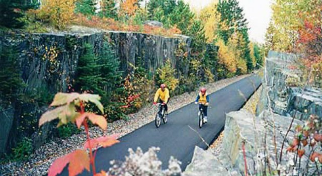 Biking the Mesabi Trail