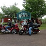 Motorcyclists enjoy staying at j gregers inn
