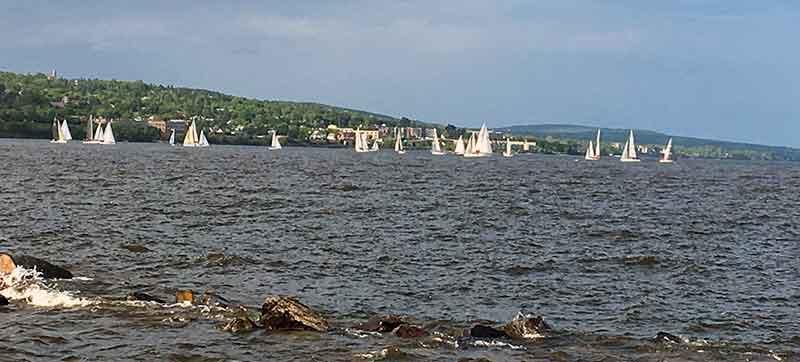 Regatta on Lake Superior